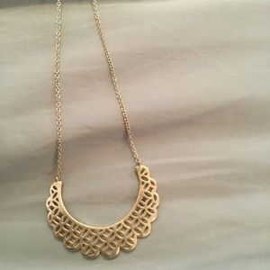 Silver Fossil necklace NWT
